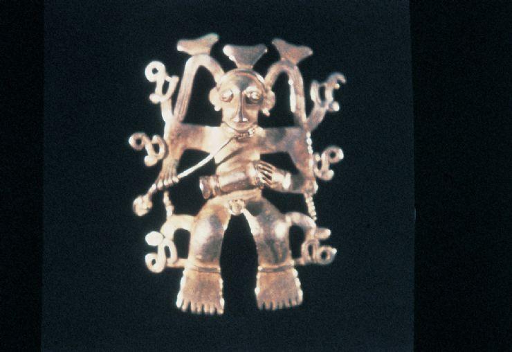 Pre Columbian Gold Pendant