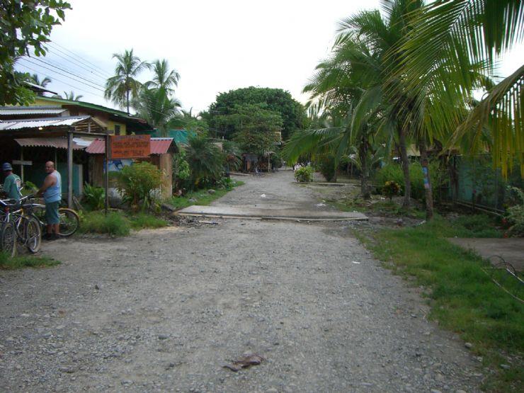 Street near BriBri Reserve