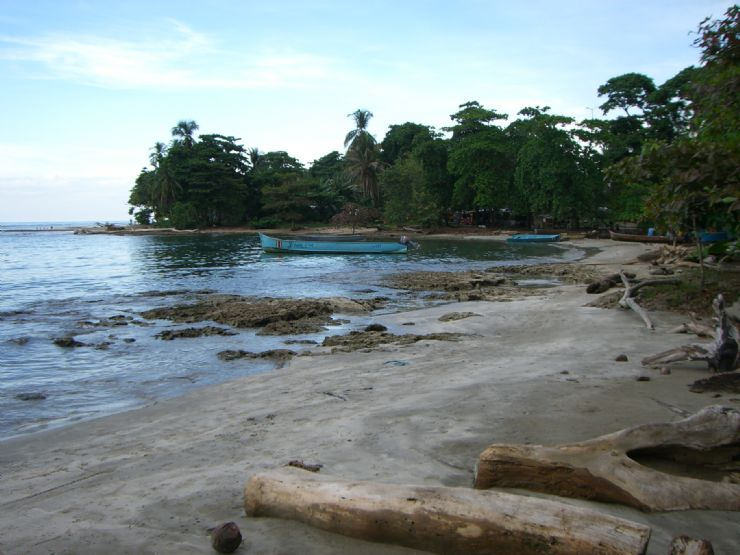Beach at Puerto Viejo de Talamanca