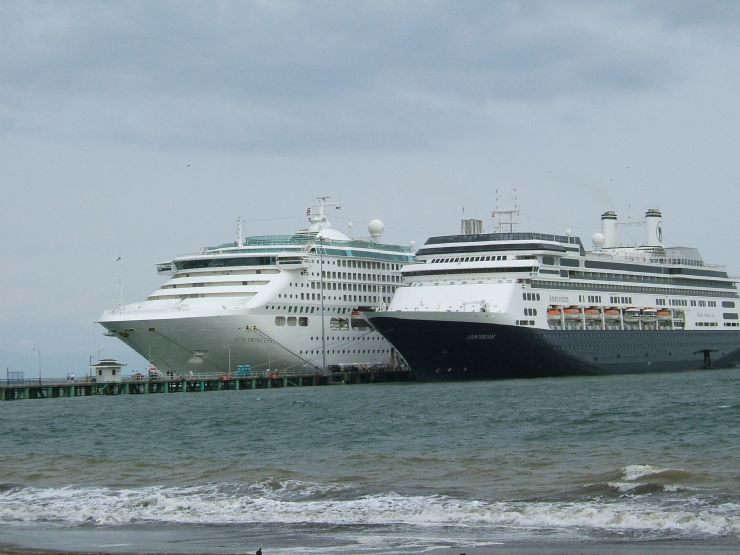 Cruise Ships at Puntarenas Port