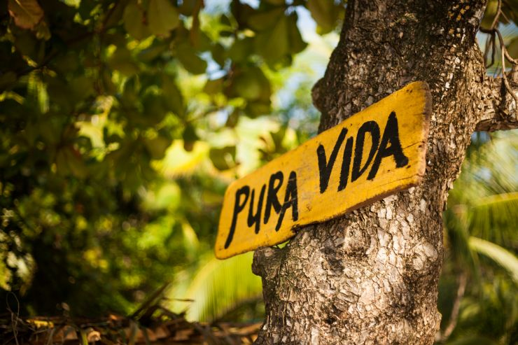 Pura Vida is a way of life in Cabuya
