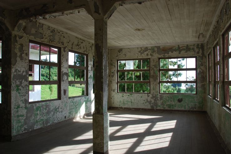 Old recovery room at Sanatorio Duran, Cartago