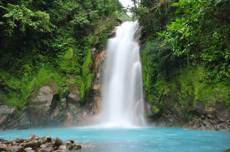 Waterfall at Rio Celeste