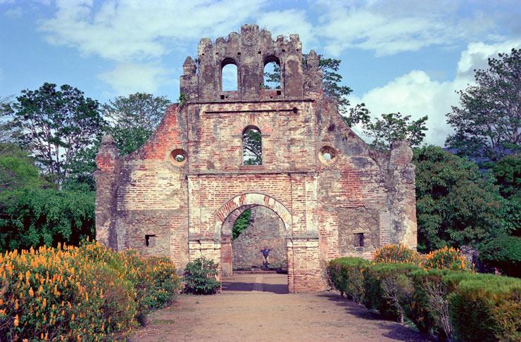 Ruins of Ujarras circa 1693