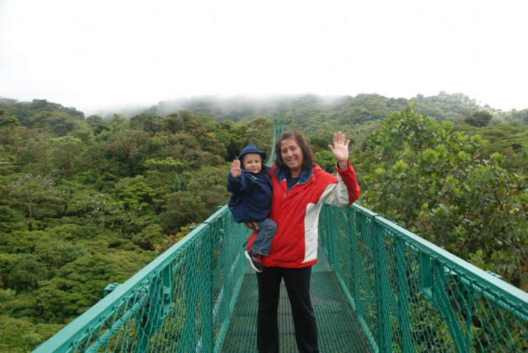 Saying Hi from the Monteverde Cloud Forest