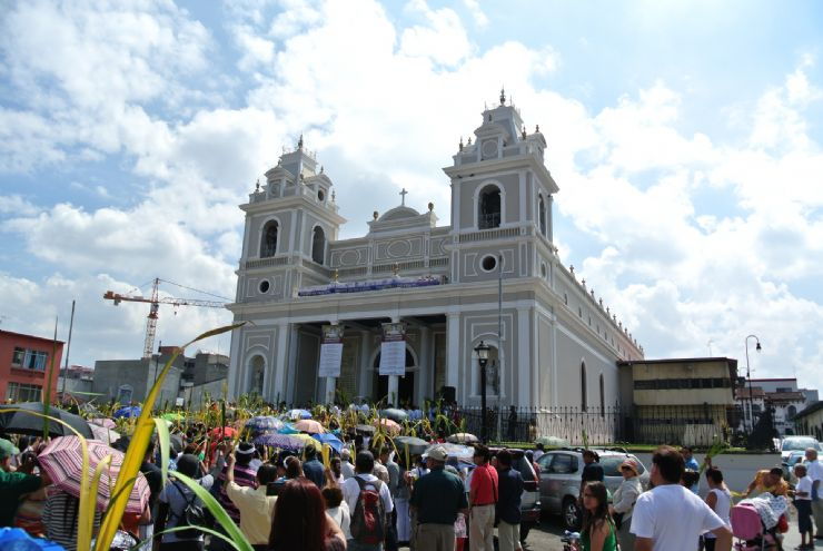Soledad Church in San Jose on Holy Week