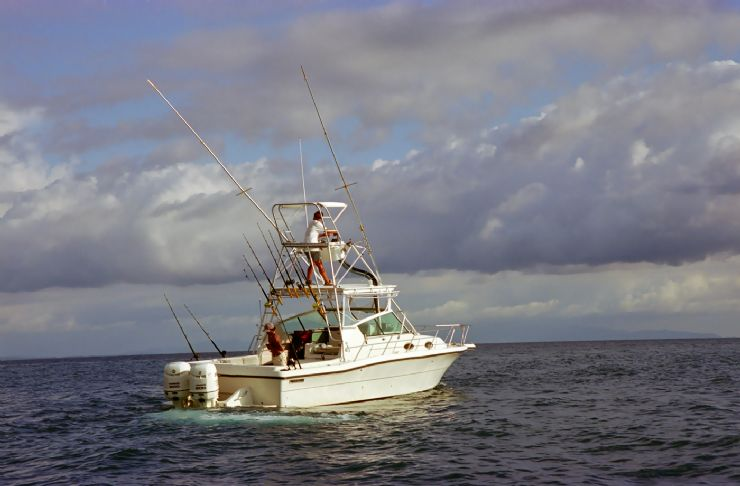 Sportfishing Boat outside Golfito