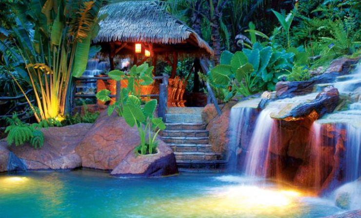 Natural Hot Springs at The Springs Resort & Spa