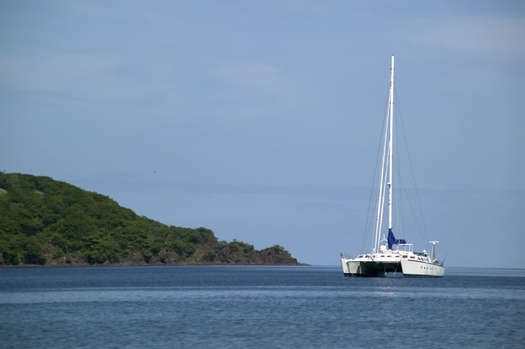 Sunset Catamaran Cruise off of Manuel Antonio