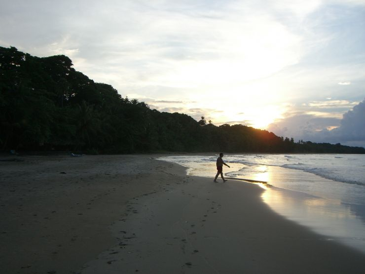 Sunset at Playa Manzanillo