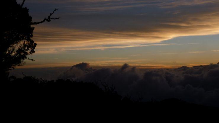 Stunning Sunset on Chirripo National Park