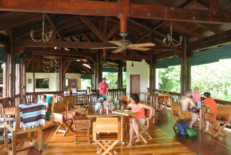 Lodge main building perfect for relaxation, Playa Nicuesa Rainforest Lodge