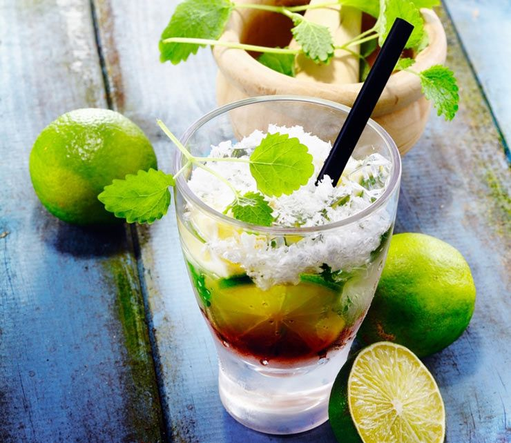Relish in a Tropical Mojito after a long forest hike