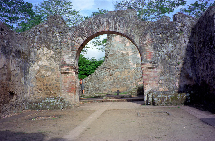 Inside Ruins of Old Church 1693