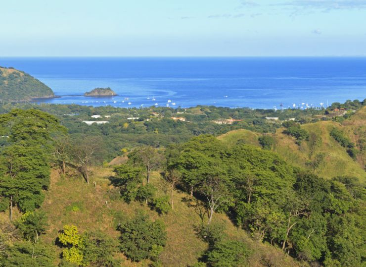 View of Playas del Coco