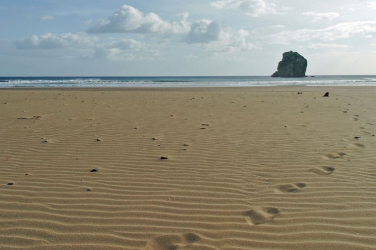 Sandy Beach at Witches Rock, Costa Rica