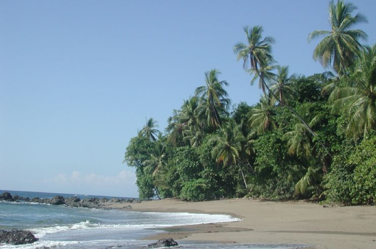 Beach at San Pedrillo Ranger Station Corcovado
