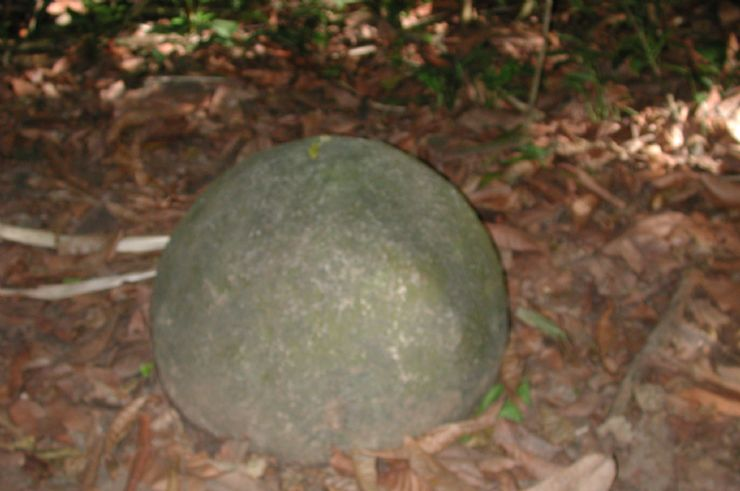Pre Columbian Rock Sphere