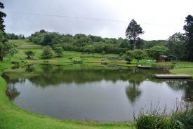 Cristal lake at Colinas del Poas, Alajuela