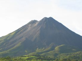 Arenal Volcano in the Morning Light