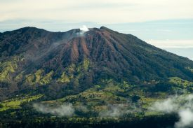 Back Side of Irazú Volcano