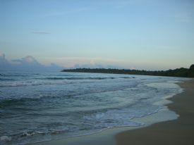 Ocean at Playa Manzanillo
