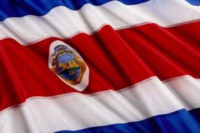 Costa Rica Flag Go Visit Costa Rica