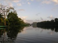 Canoeing in Tortuguero National Park