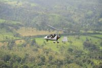 Soar high in the sky in a gyroplane over Manuel Antonio
