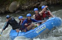 My thrilling adventure white water rafting in La Fortuna