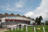 Visitors flock to La Sabana Park, Costa Rica's national stadium