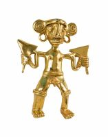 Take a tour of the Pre-Columbian Gold Museum