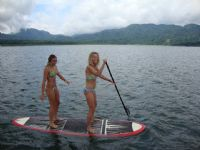 Try stand up paddle surfing