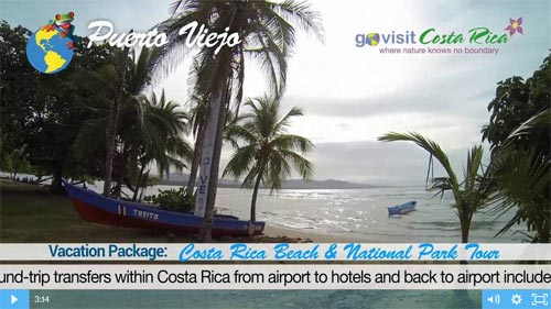 Costa Rica Beach & National Park Tour