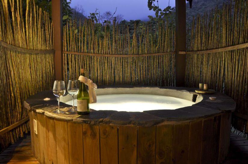 Romantic Suite with Jacuzzi at El Silencio Lodge and Spa near San Jose, Costa Rica