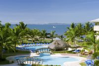 Beach and Pool at Doubletree Resort by Hilton Puntarenas