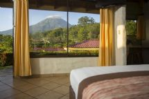 Deluxe Suite with a view of Arenal Volcano