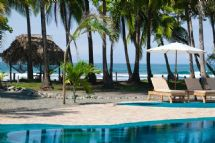 Beachfront Pool at Clandestino Beach Resort