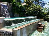 Pool Waterfall at Gaia Hotel & Reserve