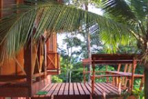 Deck at Villa Toucan