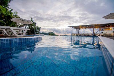 Pool At El Faro Beach Hotel