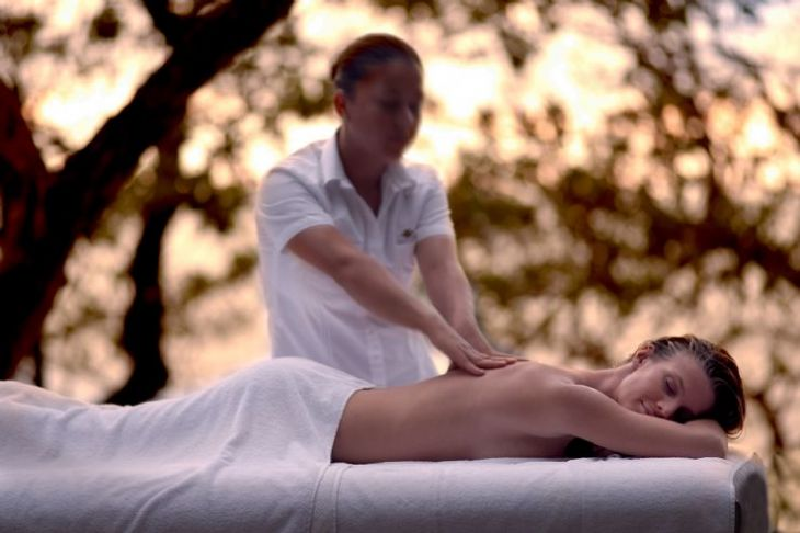 Relaxing Spa massage at Cala Luna Boutique Hotel & Villas