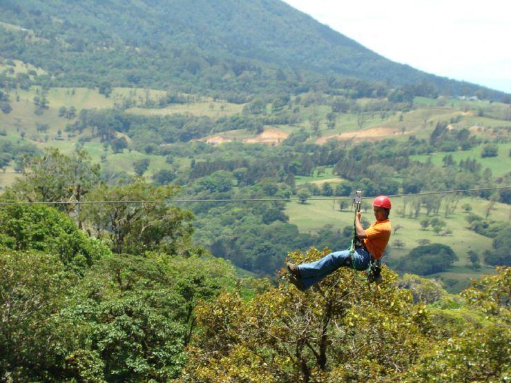 Canopy at Colinas del Poás