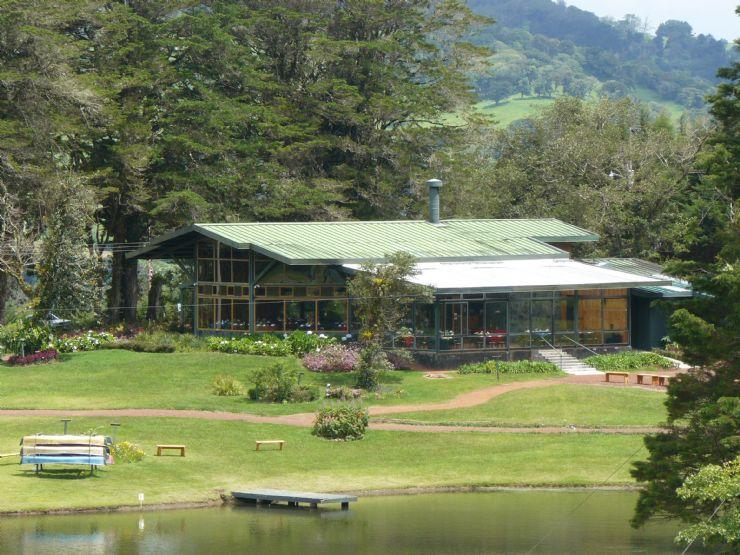 The restaurant at Colinas del Poas