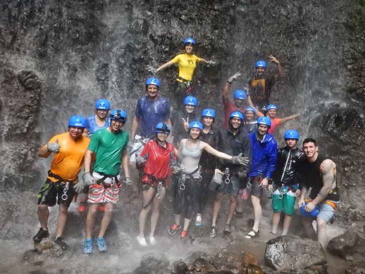 Amazing experience at Pure Trek Canyoning