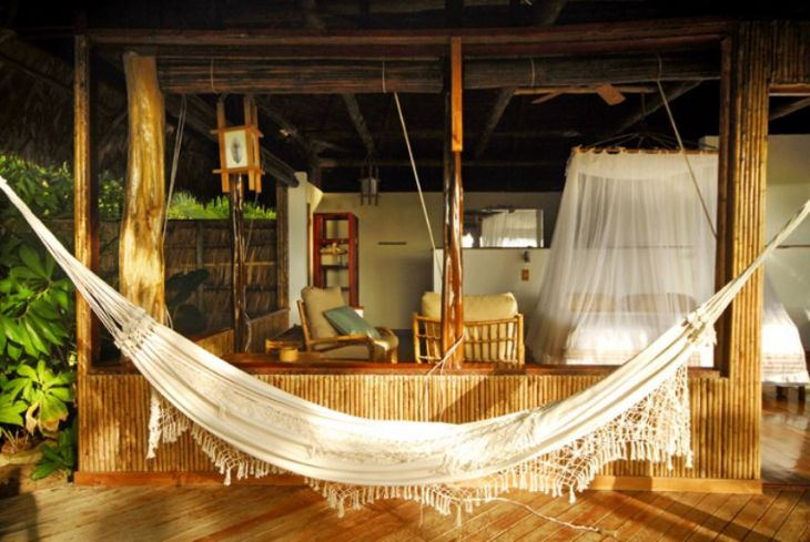 Eco lodge room at Lapa Rios Lodge