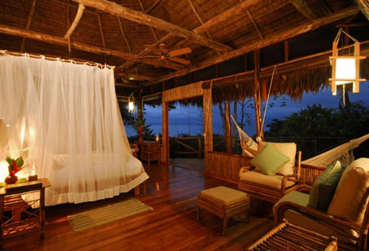 Luxury Room at Lapa Rios Lodge