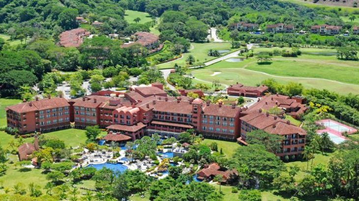 Los Sueños Marriott Ocean & Golf Resort aerial view