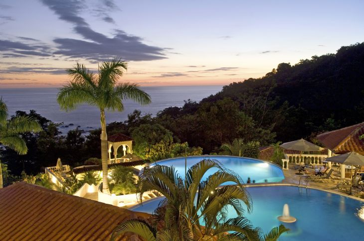 Parador Resort & Spa overlooks Manuel Antonio National Park