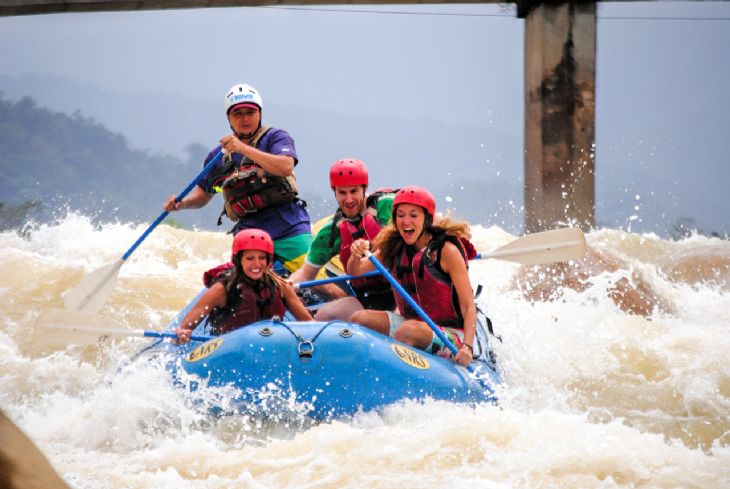 White Water Rafting with Aguas Bravas
